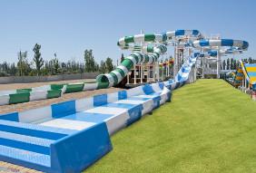 Синий слайд